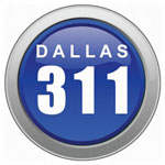 dallas non-emergency toll free phone