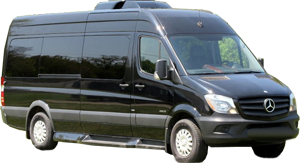 DFW Airport Mercedes-Benz Sprinter Van Limo
