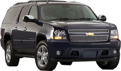 DFW Airport Chevrolet Suburban SUV Limo