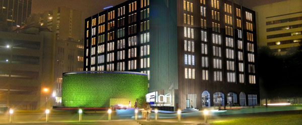 Aloft Dallas Downtown Limo Service from Dallas TX