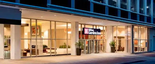 Hilton Garden Inn Downtown Dallas Limo Service from Dallas TX