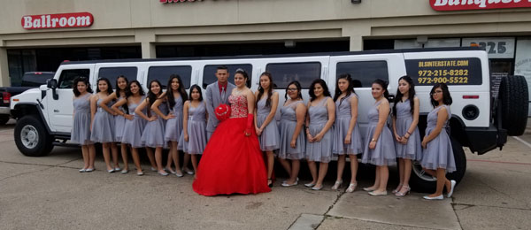hummer stretch limousine service dallas tx