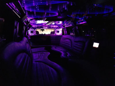 hummer stretch limousine for kids birthday party