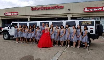 Quincenera limo Harbor Grove TX