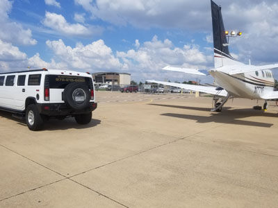 Hummer stretch limousine in  Frisco TX
